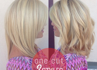 ONE CUT... TWO BEAUTIFUL STYLES