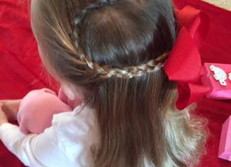 VALENTINE'S DAY HAIR FOR KIDS