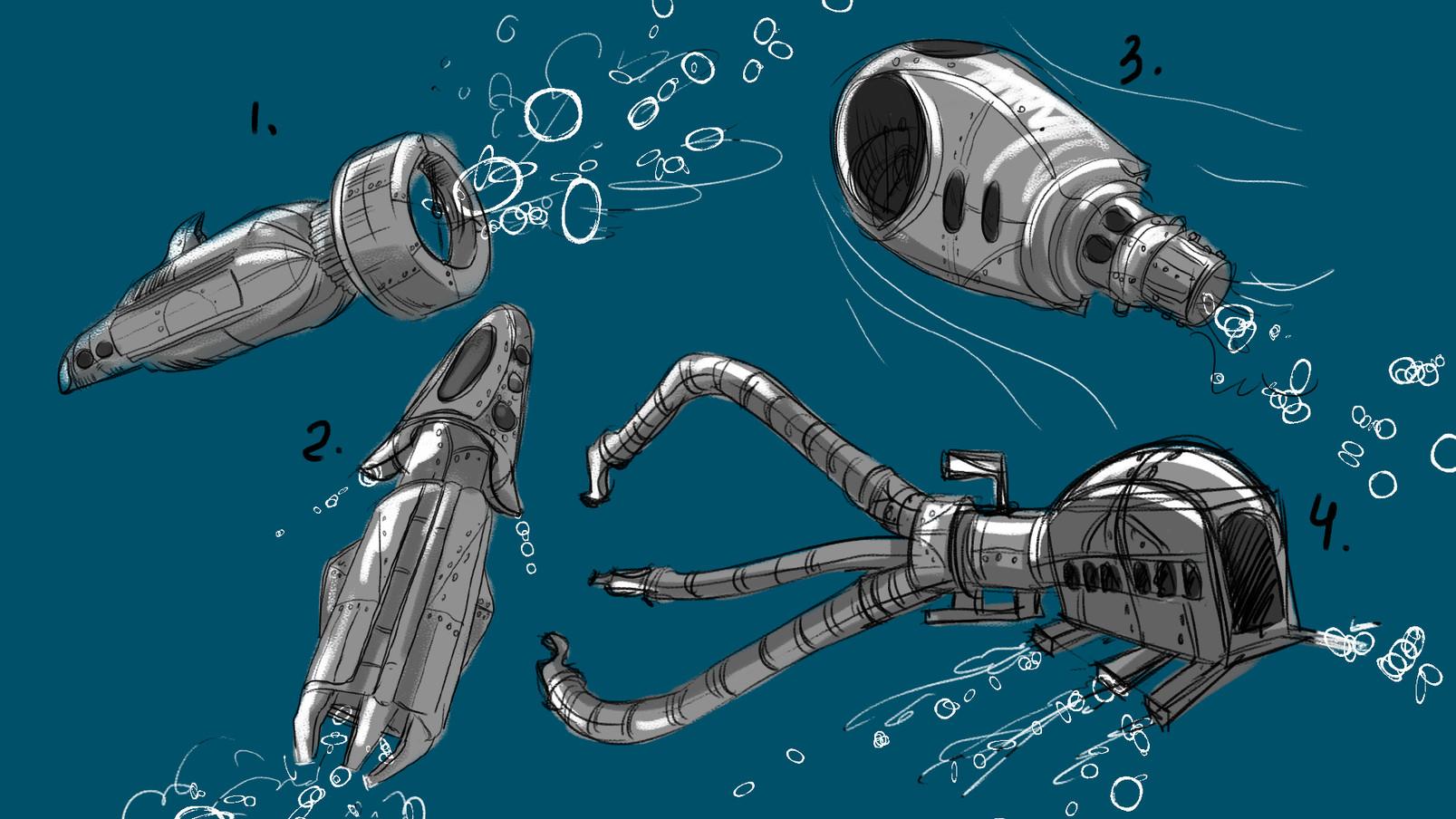 Underwater Vehicle Design