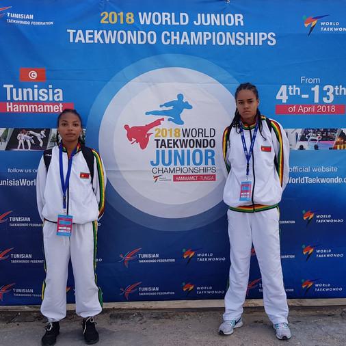 CHAMPIONNATS DU MONDE JUNIORS TUNISIE