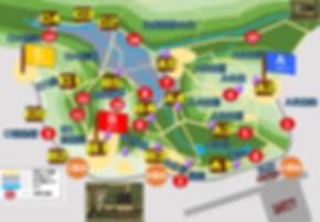 TEAM6 War Game Fieldフィールドマップ
