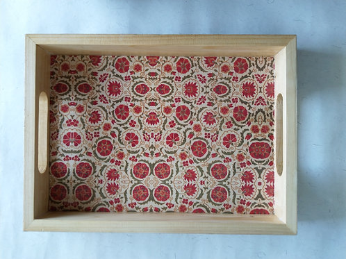 Decoupage Flower Tray