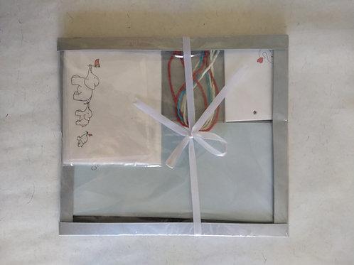 Gift Set- (Envelopes, Name Tags, and Ribbons)