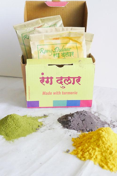 Rang Dulhar Holi Colors