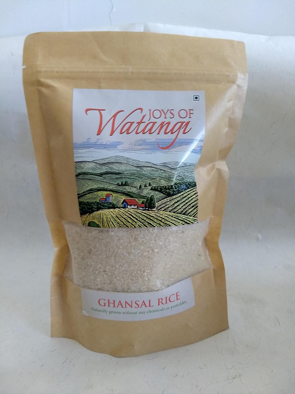 ghansal rice packet pune