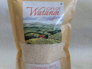 Ghansal Rice: A small-grained wholesome wonder