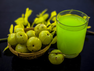 Benefits of Amla Juice and Squash