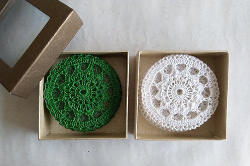 Crochet Coasters- Set of 4