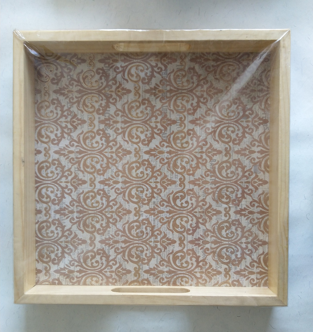 Decoupage Serving Tray