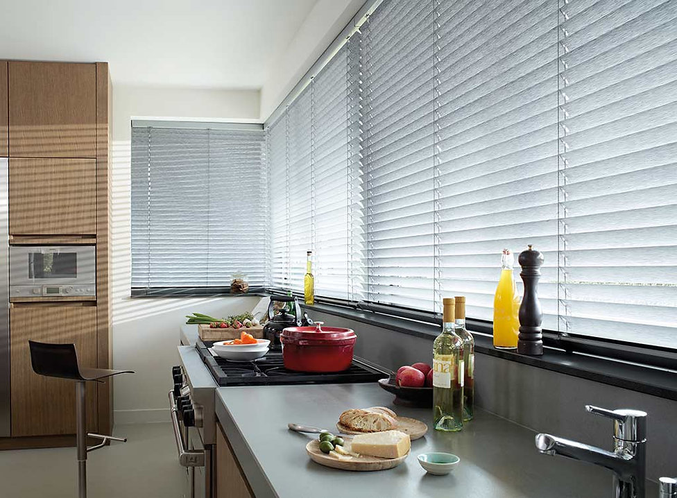 Venetian-Blinds-Full-Room-Photo-kitchen-