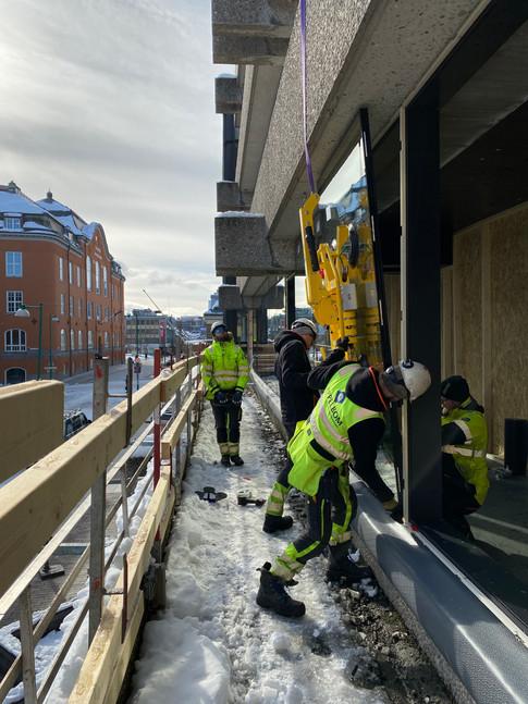 Fasaderenovering Storgata 72