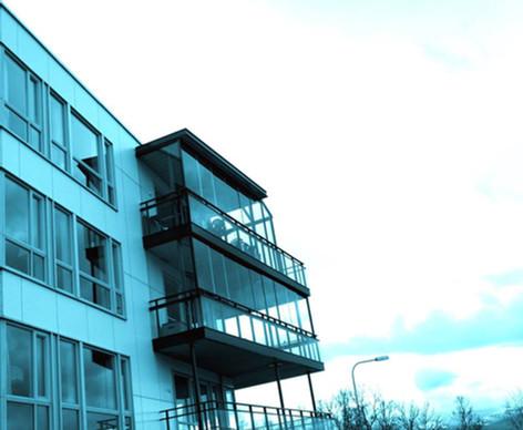 Innglassing av balkong