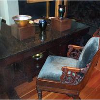 Desk & Chair of Baron Eugene Fersen