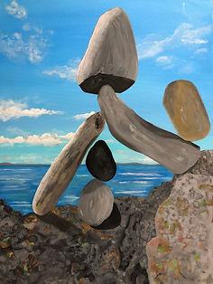 Beach Balancing Act