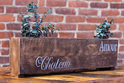 French Decor Reclaimed Wood Center Piece