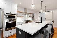 high-end modern farmhouse kitchen