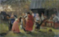 «Девичник» Корзухин А.И. , 1889 г.