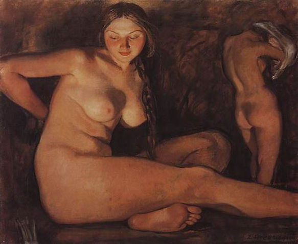 «Баня» Серебрякова З.Е., 1926 г.