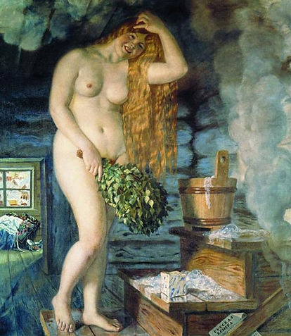 «Русская Венера» Б.М.Кустодиев 1921 г.