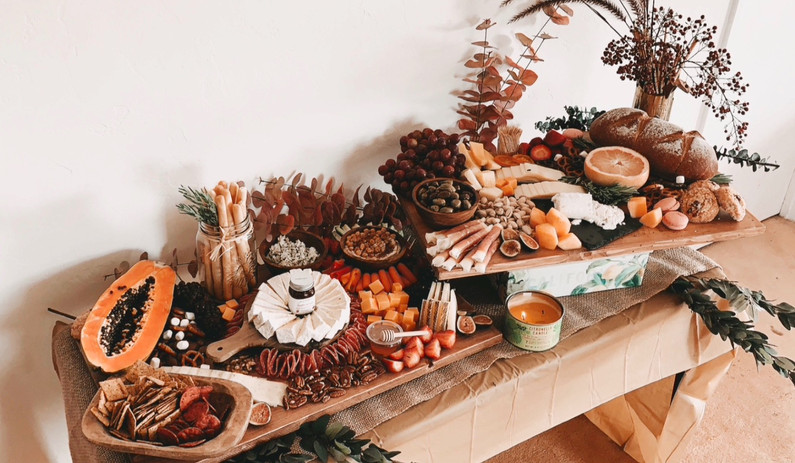 Boho Grazing Table