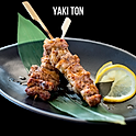 Yaki Ton (Shio/Tare) (焼きトン 塩  たれ) หมูย่างเกลือ