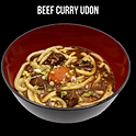 Beef Curry Udon (牛肉のカレーうどん) อุด้งแกงกะหรี่เนื้อ