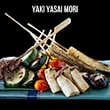 Yaki Yasai Mori (焼き野菜盛り) ผักรวมย่างเกลือ