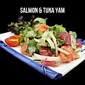 Salmon & Tuna Yam แซลม่อน&ทูน่ายำ
