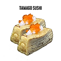 Tamago Sushi(玉子寿司) ไข่หวานซูชิ