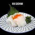 Ika Sashimi (イカ刺身) ปลาหมึก ซาชิมิ