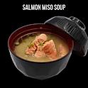 Salmon Miso Soup (サーモンの味噌汁) แซลม่อนมิโสะซุป