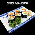 Salmon Avocado Maki (サーモンアボガド巻き)