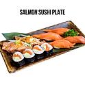 Salmon Sushi Plate (サーモン寿司盛り) แซลม่อนซูชิรวมมิตร