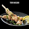 Tori wasabi (トリワサビ 塩)ไก่ย่างราดวาซาบิซอส