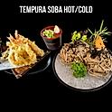 Tempura Soba (Hot/Cold) (天婦羅そば 温 冷) เทมปุระโซบะ (ร้อน/เย็น)