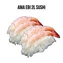 Ama Ebi 2L Sushi (甘えび寿司) กุ้งหวาน 2Lซูชิ