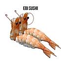 Ebi Sushi(エビ寿司) กุ้งขาวซูชิ