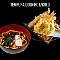Tempura Udon (Hot/Cold) (天婦羅そば 温 冷) เทมปุระอุด้ง (ร้อน/เย็น)