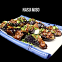 Nasu Miso (ナス味噌) มะเขือม่วงยาวราดซอสไก่สับ