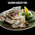 Salmon Kabuto Yaki (サーモン兜焼き) หัวปลาแซลม่อนย่างเกลือ