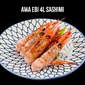 Ama Ebi 4L กุ้งหวาน 4L ซาชิมิ