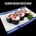 Salmon Cream Cheese Maki (サーモンクリームチーズ巻き)