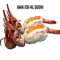 Ama Ebi 4L Sushi กุ้งหวาน 4Lซูชิ