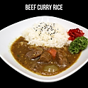 Beef Curry Rice (ビーフカレー) ข้าวราดแกงกะหรี่เนื้อ
