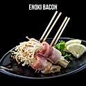 Enoki Bacon (Shio) (西京焼き) เบค่อนพันเห็ดเข็มทองย่างเกลือ