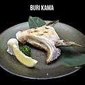 Buri Kama Yaki S (ぶりカマ焼き) คางปลาบุรีย่างเกลือไซด์ S