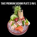 Take premium sashimi ทาเกะพรีเมี่ยม ซาชิมิ
