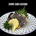 Shime Saba Sashimi (しめさば刺身) ซาบะซาชิมิ
