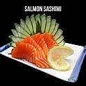 Salmon Sashimi (サーモン刺身) แซลม่อนซาชิมิ