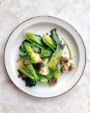 Baby Bok Choy (Chinese Cabbage) is so de